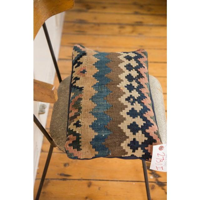 Cotton Antique Kilim Throw Pillow For Sale - Image 7 of 7