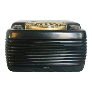 "1940s Vintage Philco Mid-Century ""Hippo"" Radio For Sale"