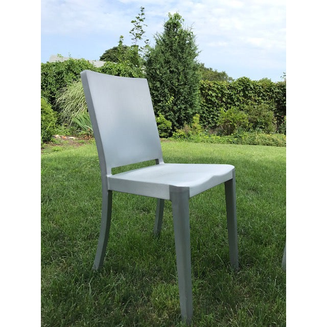 An Emeco Hudon chair by Philippe Starck. I love these chairs.. they are great for indoor or outdoor. They are used, but in...