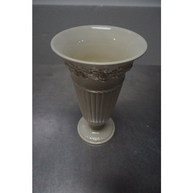 Wedgwood Queensware Trumpet Vase - Image 4 of 4