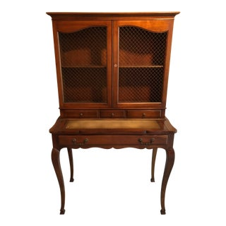 Heritage Henredon French Country Style Secretary For Sale