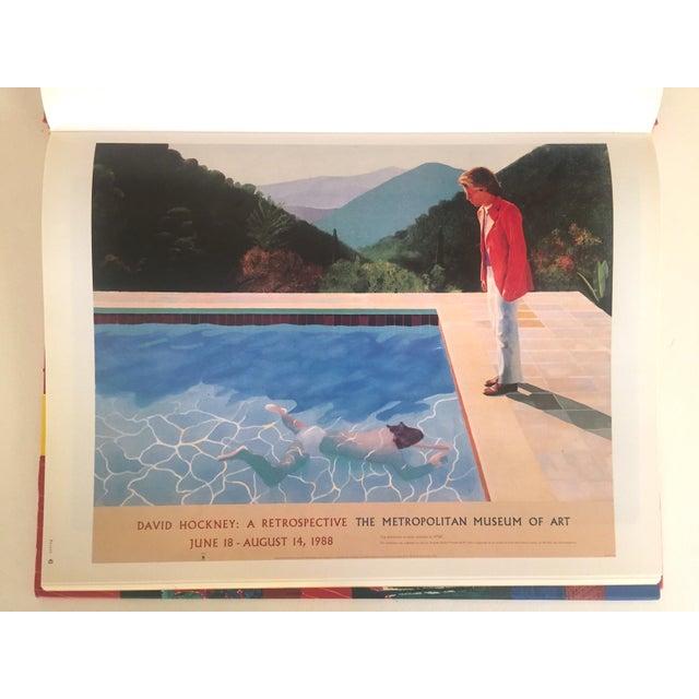 """David Hockney Poster Art"" 1st Edition Vintage 1995 Collector's Art Book - Image 5 of 11"
