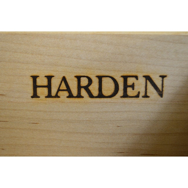 Harden Chippendale Style Solid Cherry Tall Chest For Sale - Image 11 of 13