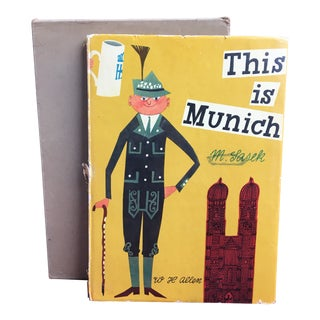 1961 Vintage This Is Munich First Edition Book For Sale