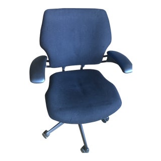 Niels Diffrient's Freedom Black Office Chair For Sale