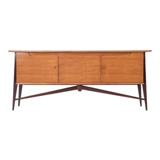 De Coene Mid-Century Modern Two Tone Sideboard For Sale