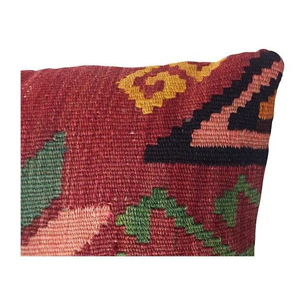 Floral Kilim Fragment Pillow - Image 3 of 4