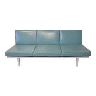George Nelson Steel Frame Sofa by Herman Miller For Sale