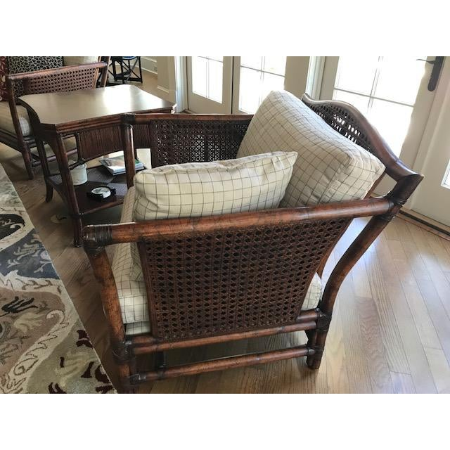 Traditional Ficks Reed Wicker Chair For Sale - Image 3 of 10