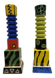 Image of Memphis Candle Holders