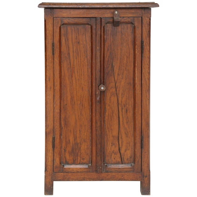 Wood Antique Model Armoire, circa 1890 For Sale - Image 7 of 7