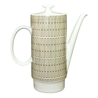 1950's Mid Century Modern Coffee Pot Schwarzenhammer Bavaria For Sale