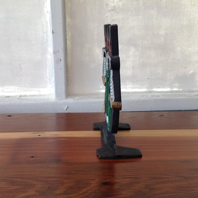 Cast Iron Scale of Justice Door Stop - Image 3 of 11