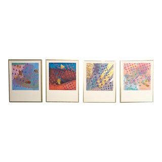 Frank Rowland Framed Paintings - Set of 4 For Sale