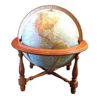 Vintage Replogle Illuminated World Globe For Sale