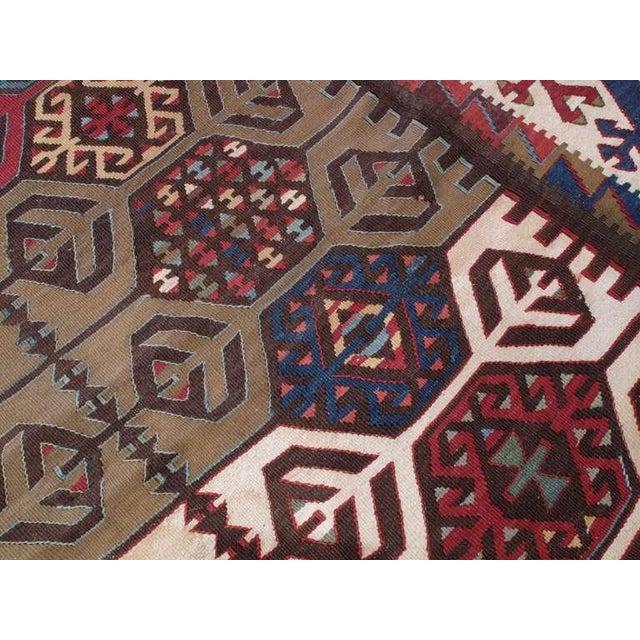 Impressive Antique Konya Kilim For Sale In New York - Image 6 of 8