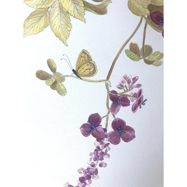 """2020s """"Owl You Need Is Love"""" Botanical Bird Painting by Allison Cosmos For Sale - Image 5 of 8"""