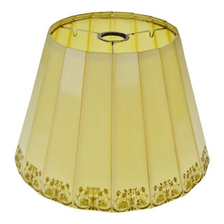 Mid Century Emeloid Plastic lampshade For Sale
