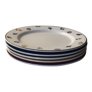 Villeroy & Boch White Premium Porcelain Salad Plates - Set of 5