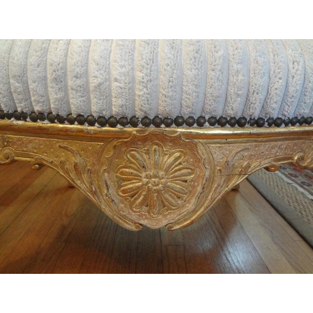 Wood 18th Century French Régence Giltwood Chair For Sale - Image 7 of 13