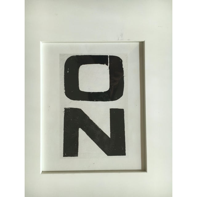 """On It"" Black & White Print Duo - Image 3 of 3"