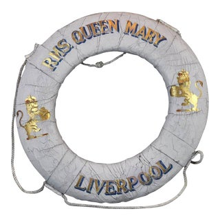 R.M.S. Queen Mary Liverpool Life Ring