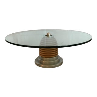 J. Wade Beam for Brueton MCM Postmodern Coffee Cocktail Table For Sale