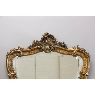 19th Century French Rococo Mirror With Beveled Glass Preview