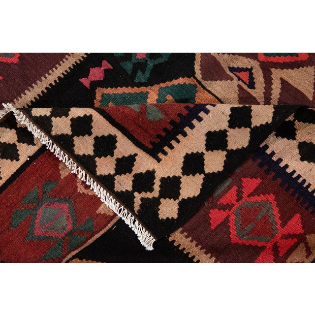 "Traditional Mid-20th Century Vintage Kilim Runner Rug 5' 1"" X 12' 2''. For Sale - Image 3 of 13"