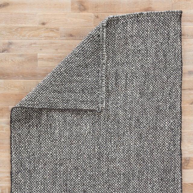 Jaipur Living Topper Handmade Solid Black & Gray Area Rug - 2' X 3' For Sale - Image 4 of 6
