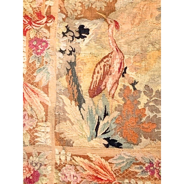 Belgian Late 19th Century French Des Bois Tapestry- 6 X 6' For Sale - Image 3 of 13