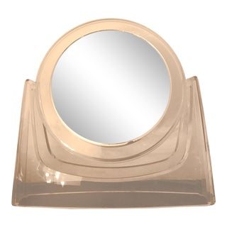 Lucite Vanity Mirror For Sale