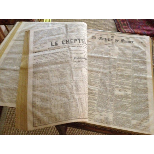 French Gazette on Stand For Sale In Savannah - Image 6 of 8