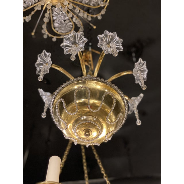 1930s 1930s French Bagues Chandelier For Sale - Image 5 of 11
