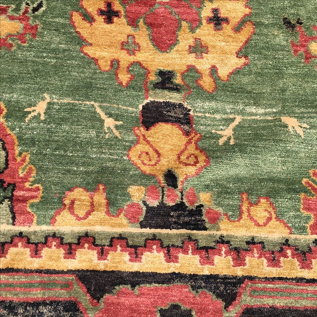 Large Handknotted Nepalese Rug - 9′ × 11′9″ - Image 5 of 11