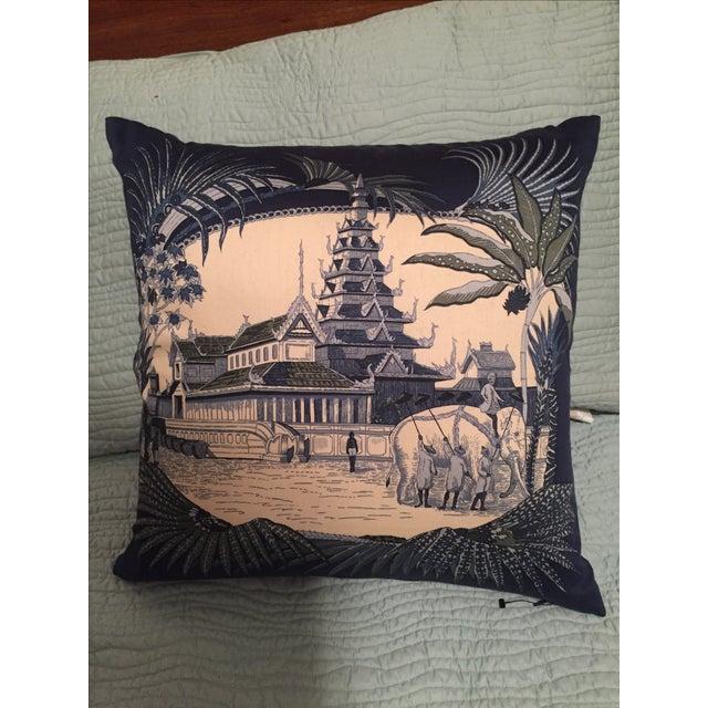 Jim Thompson Cotton Cushion Covers - Set of 3 - Image 2 of 3