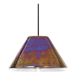 Tom Dixon Flask Oil Wide Pendant For Sale