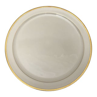 Lenox Gilded Cake Plate For Sale