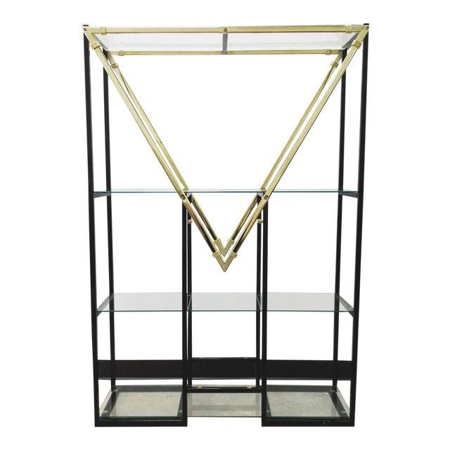 "Mid-Century Modern Style Geometric ""m"" Etagere For Sale"