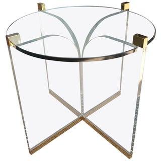 """""""Fleur-De-Lis"""" Center Table by Charles Hollis Jones, Signed For Sale"""