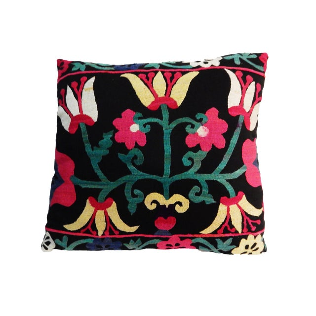 Old Suzani Lg Pillow - Image 1 of 8