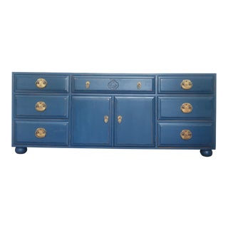 1980s Campaign Henredon Sideboard For Sale