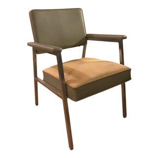 1970s Milo Baughman Chrome Leather Chair For Sale