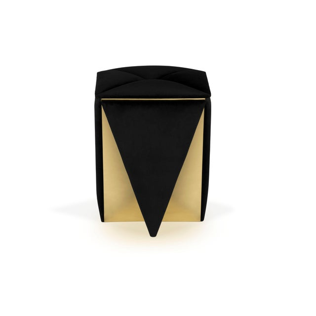 Prisma Stool From Covet Paris For Sale - Image 6 of 9