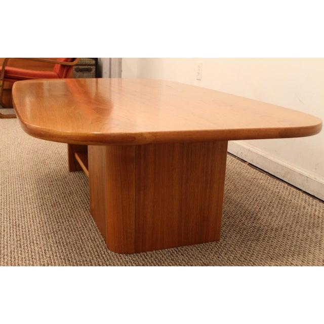 Mid-Century Danish Modern Mobler Teak Coffee Table - Image 4 of 10