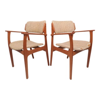 Danish Modern Erik Buch No. 49 Armchairs - a Pair For Sale