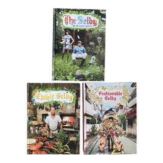 The Selby Books: Is in Your Place, Fashionable Selby, & Edible Selby - Set of 3 For Sale