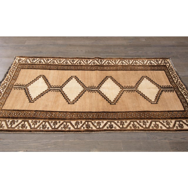 "Apadana Persian Shiraz Rug - 3'4"" X 6'2"" - Image 7 of 7"