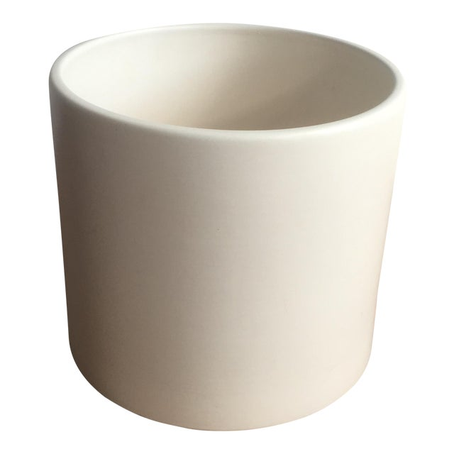 Matte White Ac-12 Gainey Ceramics Planter - Image 1 of 7