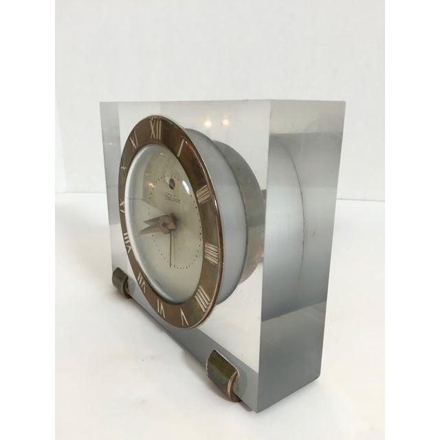 Mid-Century Telechron Lucite Clock - Image 3 of 6